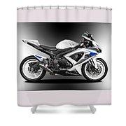 Suzuki Gsxr Shower Curtain