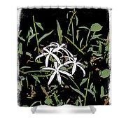 Swamplilies Shower Curtain