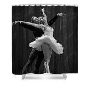 Swan Lake  White Adagio  Russia 2 Shower Curtain by Clare Bambers