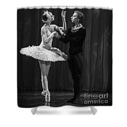 Swan Lake  White Adagio  Russia Shower Curtain