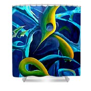 Swaying In Harmony 1 Shower Curtain