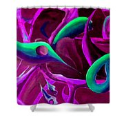 Swaying In Harmony 3 Shower Curtain