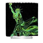 Sweat Liberty Shower Curtain