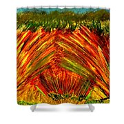 Sweeping Fields Shower Curtain