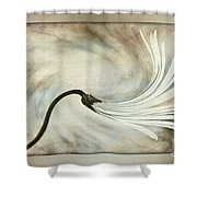 Sweeping Petals Shower Curtain