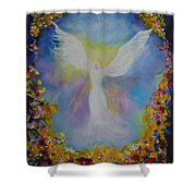 Sweet Angel Shower Curtain