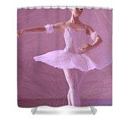 Sweet Ballerina Shower Curtain