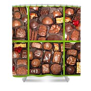 Sweet Collage Shower Curtain