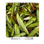 Sweet Corn Shower Curtain