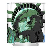 Sweet Liberty Shower Curtain