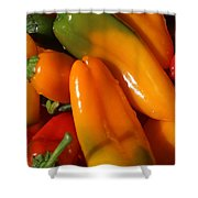 Sweet Peppers Shower Curtain