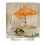 Sweet Sprouts Shower Curtain
