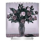 Sweet Valentine Bouquet  Shower Curtain