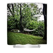 Swing Time Shower Curtain