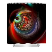 Swirl Of Colors Shower Curtain