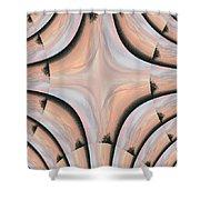 Swirled Sky Shower Curtain