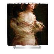 Swirling Shower Curtain