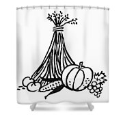 Symbol: Thanksgiving Shower Curtain