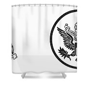 Symbols: U.s. Army Shower Curtain by Granger