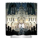 Synagogue Shower Curtain