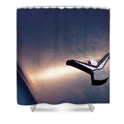 T Bird Emblem Shower Curtain