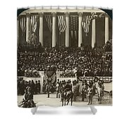 T. Roosevelt Inauguration Shower Curtain