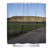 Table Rock Afternoon Shower Curtain