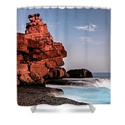 Table Water Shower Curtain