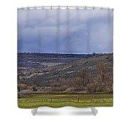 Tabletop Panorama Shower Curtain