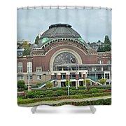 Tacoma Court House Shower Curtain