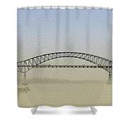 Tacony - Palmyra Bridge Shower Curtain