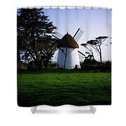 Tacumshane Windmill, Co Wexford, Ireland Shower Curtain