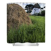Tacumshane Windmill, County Wexford Shower Curtain