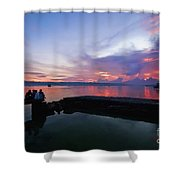 Tagbilaran Sunset Shower Curtain