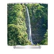 Tahitian Waterfall Shower Curtain