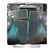 Tainted Hot Rod Shower Curtain