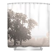 Take A Back Road Shower Curtain