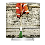 Take A Break Shower Curtain by Joana Kruse