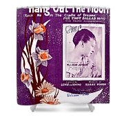 Take In The Sun Hang Out The Moon Shower Curtain