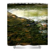 Beautiful River Shower Curtain