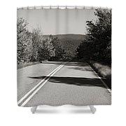 Talimena Roads I Shower Curtain