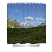 Talkeetna View Shower Curtain