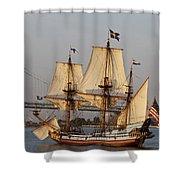 Tall Ship Four Shower Curtain