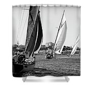Tall Ship Races 2 Shower Curtain