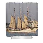 Tall Ship Seven Shower Curtain