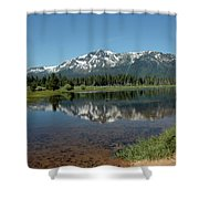 Tallac Reflections Shower Curtain