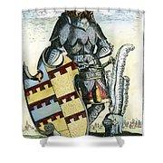 Tamerlane (1336?-1405) Shower Curtain