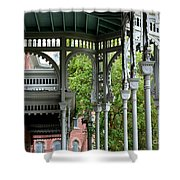 Tampa Architecture Shower Curtain