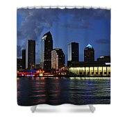 Tampa Convention Center Shower Curtain