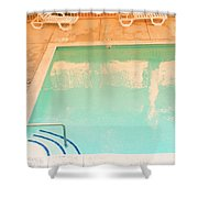 Tandem By The Pool Shower Curtain
